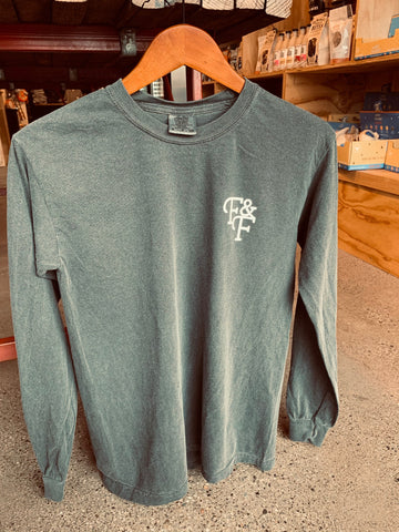 Long Sleeve F&F Shirt - [Pepper]