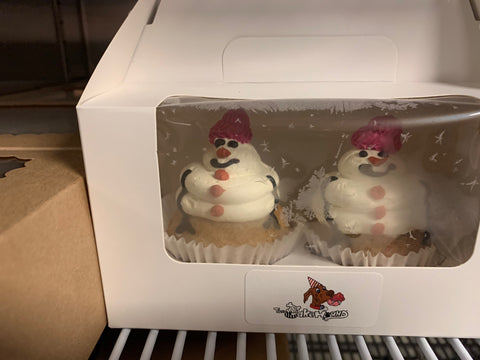 The Cakehound - Cupcakes [Snowman]
