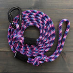Wilderdog - Big Carabiner Rope Leash [Razzleberry]
