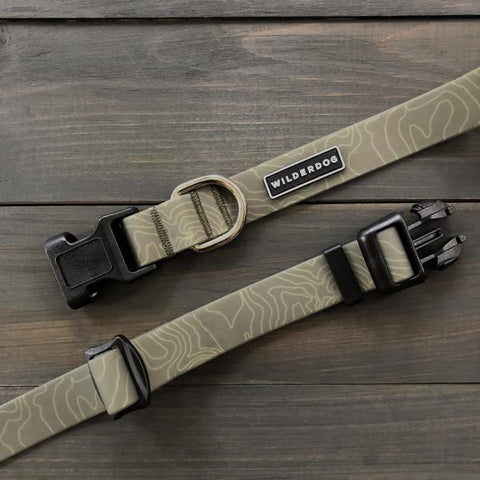 Wilderdog Wtrprf Collar, Olive [medium]