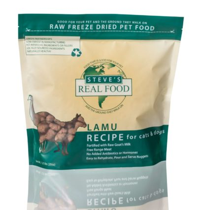 Steve's Real Food - 1.25lbs Freeze Dried Food [Lamu]