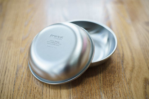 Americat Stainless Steel Bowl - US Made