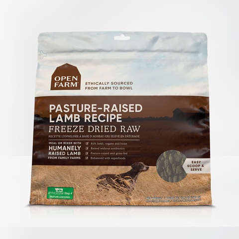 Open Farm 13.5 oz  Pasture Raised Lamb Freeze Dried Raw