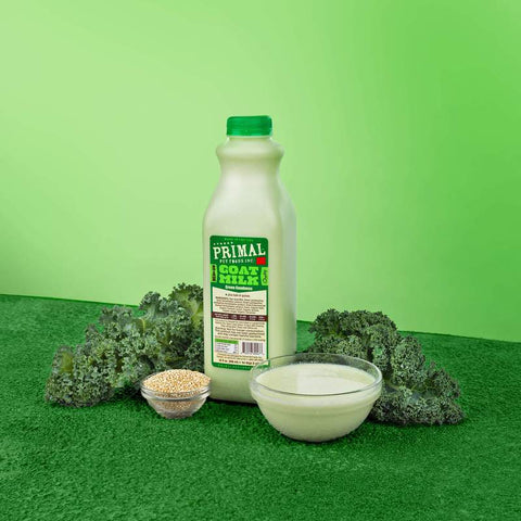 Primal Goat Milk Quart- 32 oz. [Green Goodness]