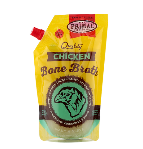 Primal Chicken Bone Broth, 20 oz.