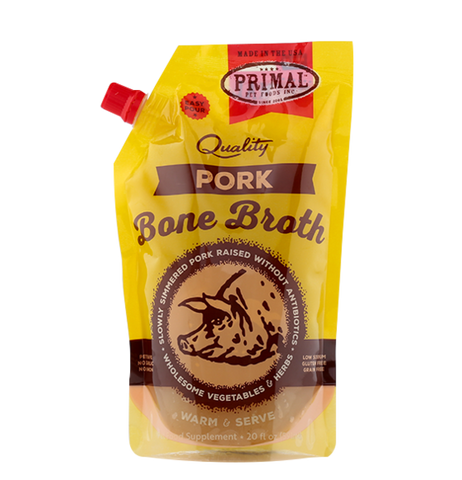 Primal Pork Bone Broth, 20 oz.