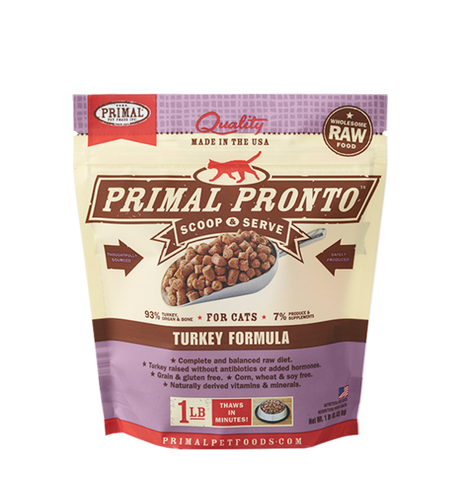 Primal 1 lb Pronto Feline [Turkey]