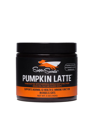 Super Snouts 5oz Pumpkin Latte