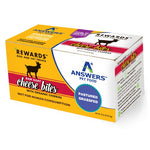 Answers Rewards 8oz Raw Goat Cheese with Organic Cherries Treat for Dogs & Cats