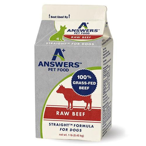 Answers Frozen Raw Straight Formula [Beef]