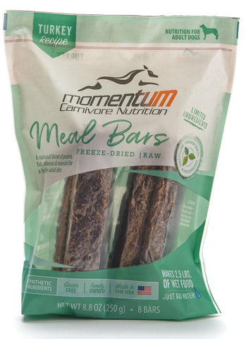Momentum Freeze Dried Meal Bars [turkey]