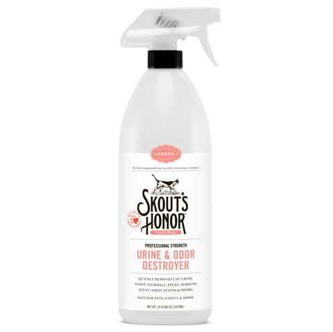 Skout's Honor - Cat Urine & Odor Destroyer