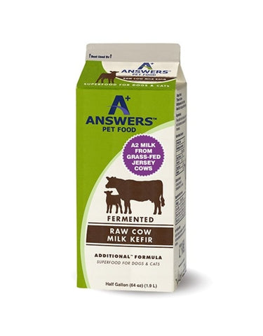 Answers Cow Milk Kefir for Dogs and Cats