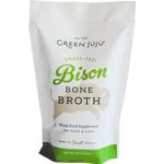 Green Juju 20 oz Grass Fed Bison Bone Broth FROZEN