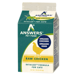 Answers 1 lb Cat detailed chick raw frozen diet