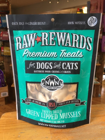 Northwest Naturals - Freeze Dried Green Lipped Mussels for Dogs & Cats