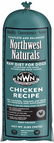 Northwest Naturals 5 Lb Chicken Raw Chub