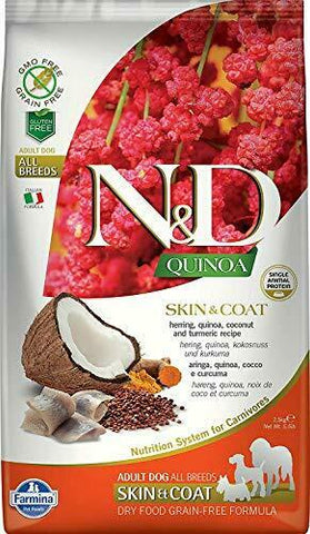 Farmina 15.4 LB Dog Quinoa Skin & Coat (Duck)