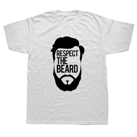 "beardedkit - ""Respect The Beard "" Men's T-shirt -"