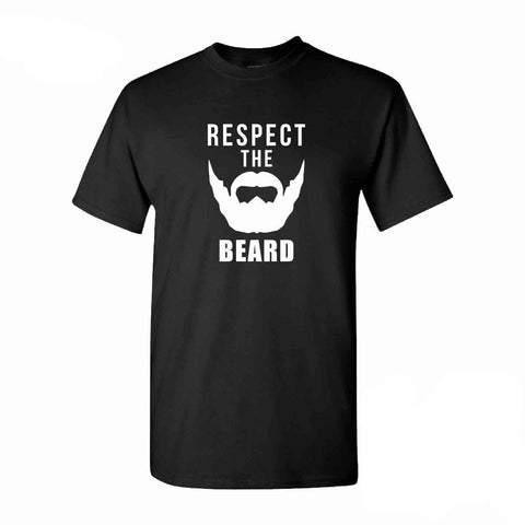 "beardedkit - ""Respect the Beard"" Men's T-Shirt -"