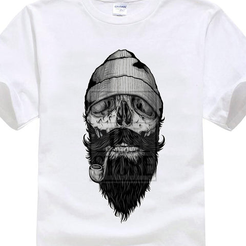 "beardedkit - ""Beard Skull"" Men's T-Shirt -"