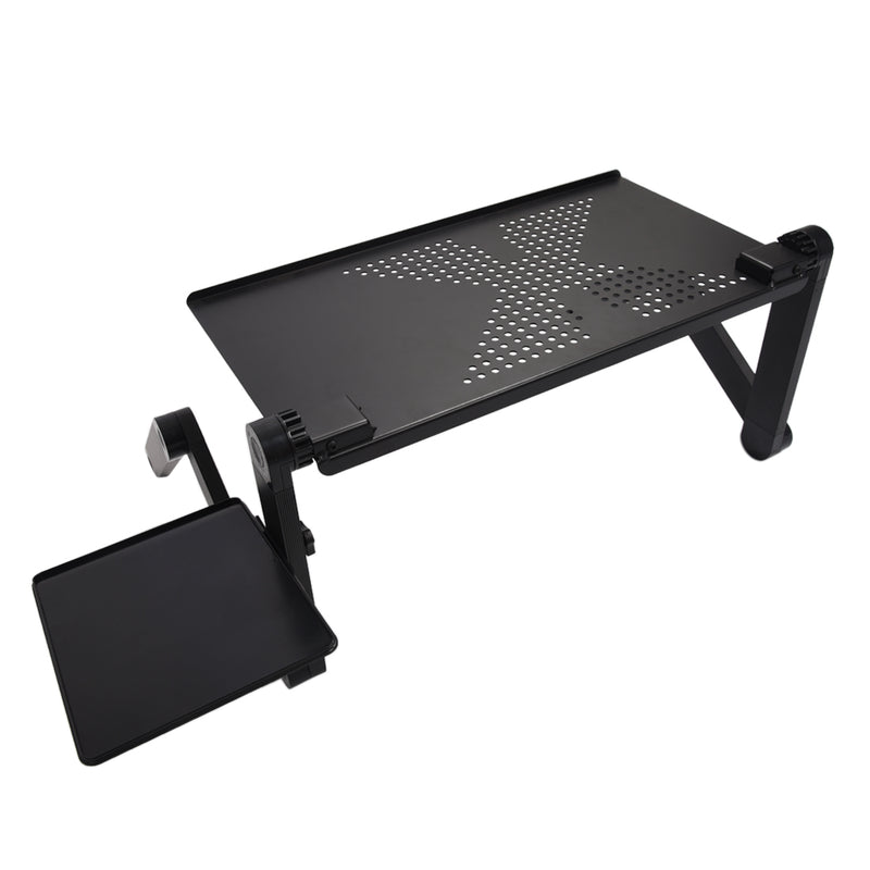 Computer Desk Portable Adjustable Foldable Laptop Notebook Lap PC Folding Desk Table Vented Stand Bed Tray