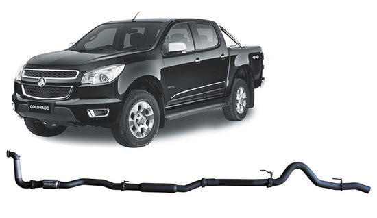 Redback 4x4 4X4 PERFORMANCE EXHAUST to suit Holden Colorado (2012 - 2016)