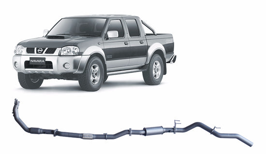 Redback 4x4 Extreme Duty 4X4 PERFORMANCE EXHAUST to suit Nissan Navara (2008 - 2016)