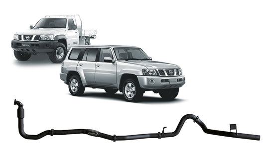REDBACK 4X4 - 4X4 PERFORMANCE EXHAUST TO SUIT NISSAN PATROL Y61 (GU) (2000  - 2017)