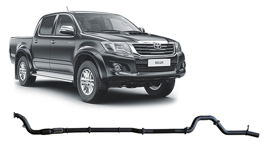 REDBACK 4X4 - 4X4 PERFORMANCE EXHAUST TO SUIT TOYOTA HILUX KUN16R, KUN26R (2005 - 2015)