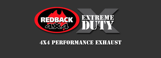 Redback 4x4 Extreme Duty 4X4 Performance Exhaust to suit Toyota Landcruiser (01/2016 - on)