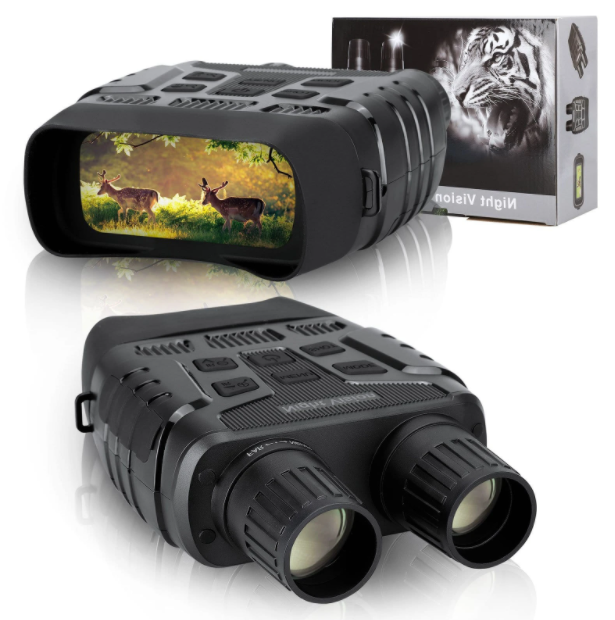 Infrasight™ Night Vision Binoculars with LCD Screen Infrared (IR) Camera