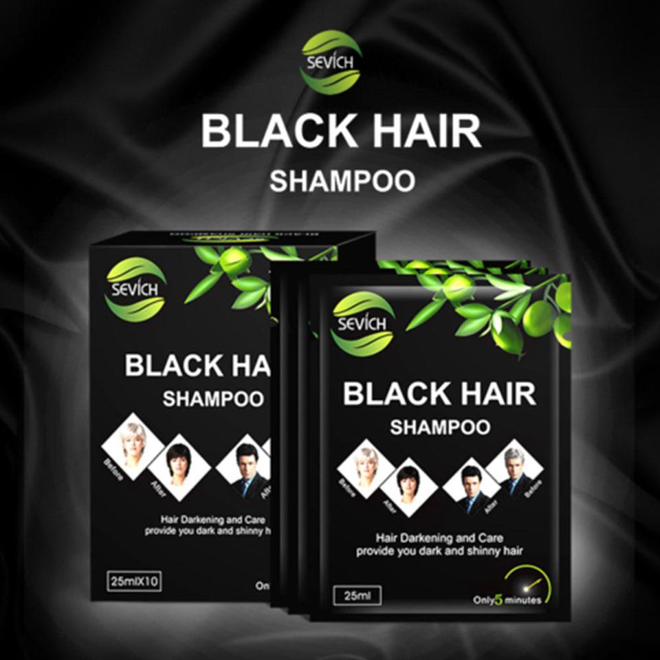 Shopedian 1 Bag Natural Hair Darkening Shampoo