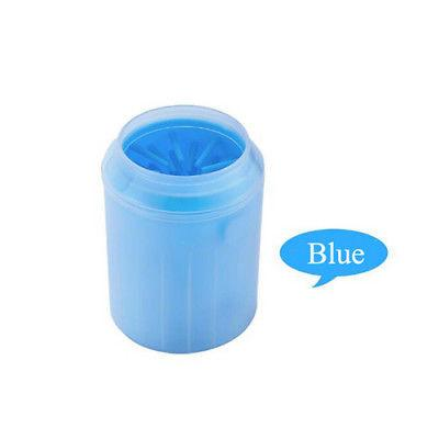 Shopedian Blue / M Dog Paw Cleaner - Portable Pet Foot Washer Cup