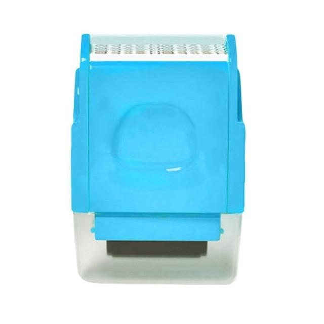 Shopedian Blue / United States Identity Theft Protection Roller Stamp