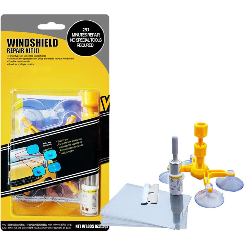 Shopedian DIY Auto Glass Windshield Repair Tool Kit