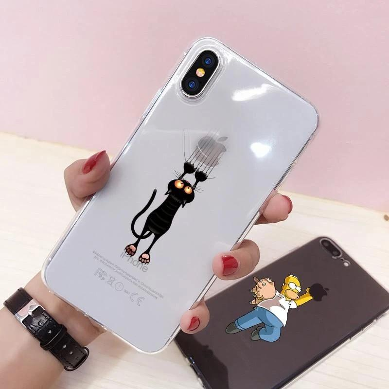Shopedian For iPhone Xs Max / 06 Funny Apple iPhone Cases