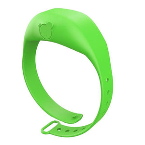 Shopedian Green / United States Sanitizer Wristband Dispenser
