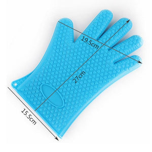 Shopedian Heat Resistant Grill Gloves