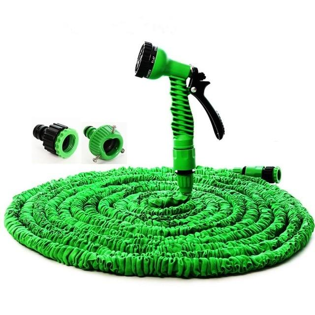 Shopedian Home & Office Green / 50FT 7-Mode Expandable Water Hose