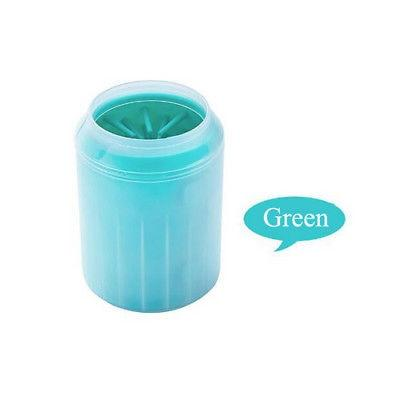 Shopedian Light Green / M Dog Paw Cleaner - Portable Pet Foot Washer Cup