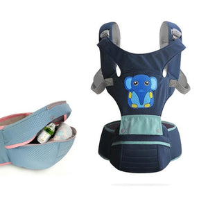 Shopedian Navy Blue / For Non-USA Residence Secure Infant™ Baby Carrier
