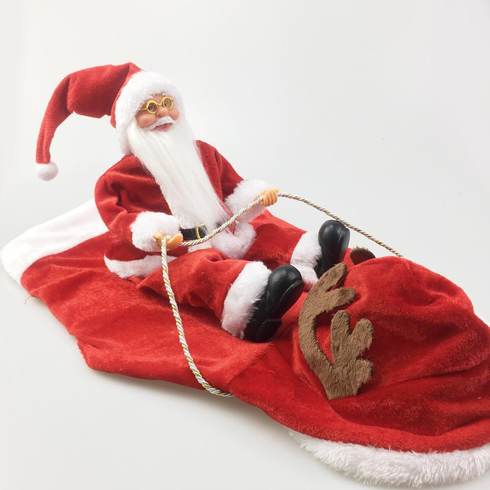 Shopedian Pet Christmas Santa Claus Dog Costume