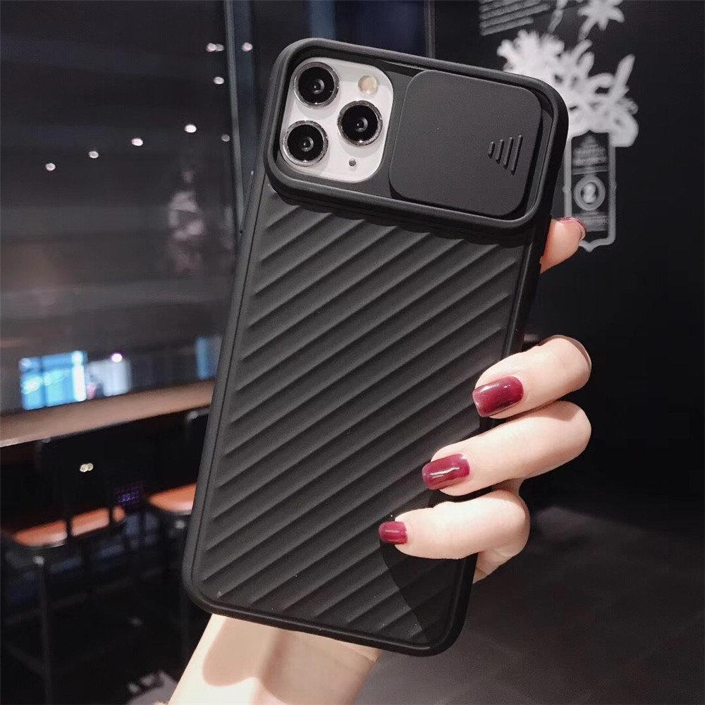 Shopedian Phone cases For iPhone 11 Pro / Black Lens slide cover phone case (Limited Time Promotion-50% OFF)