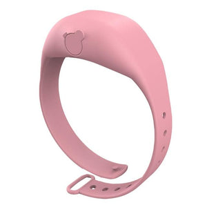 Shopedian Pink / United States Sanitizer Wristband Dispenser