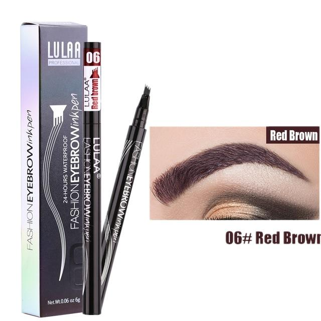 Shopedian Red Brown / United States Magic Waterproof Eyebrow Pencil