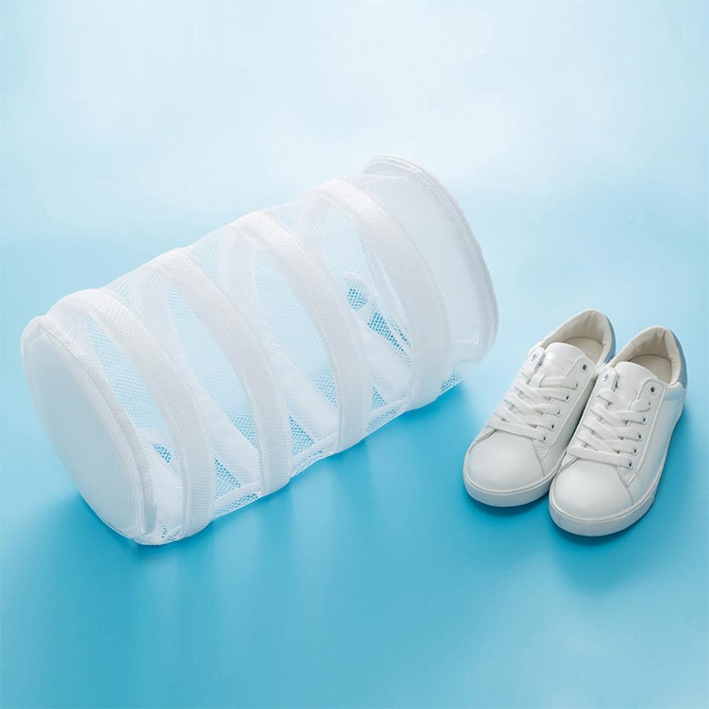 Shopedian Round Shoes Washing Bags