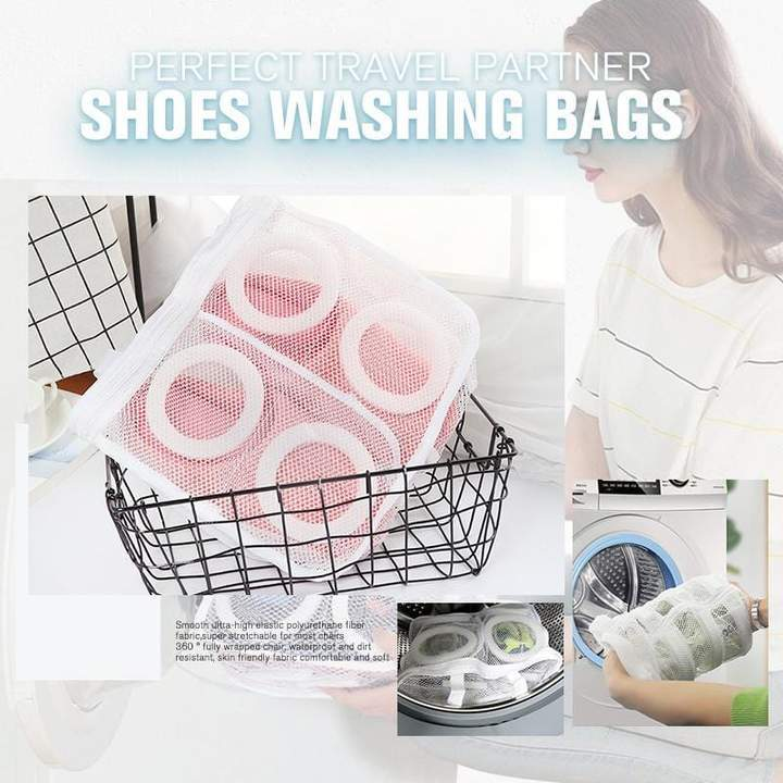 Shopedian Shoes Washing Bags