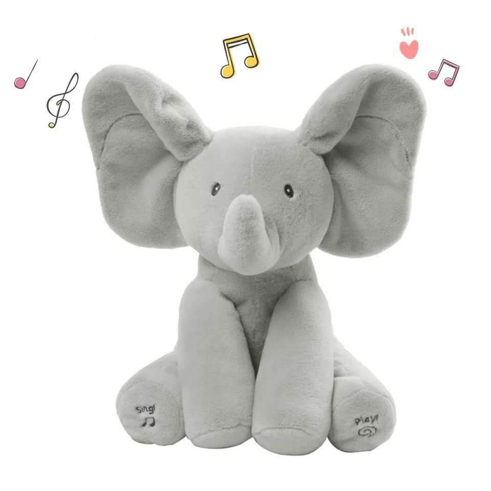 Shopedian Snippy Plush Elephant