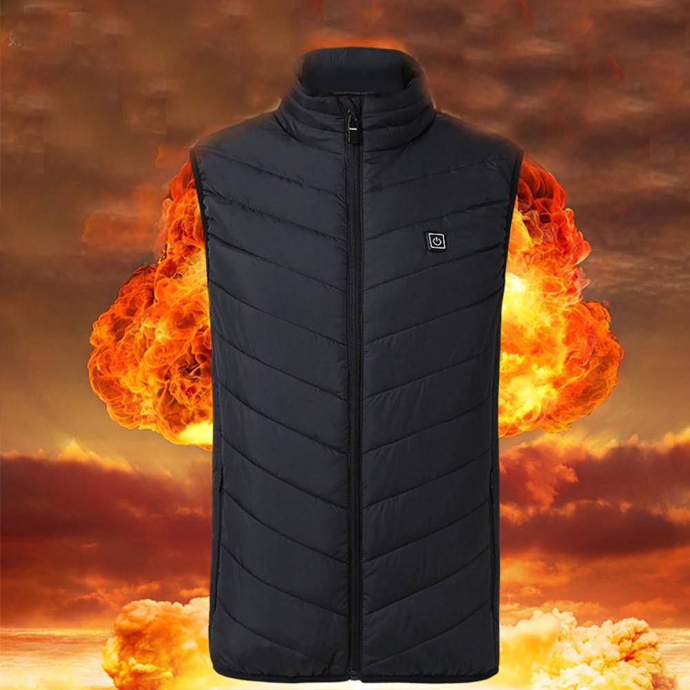 Shopedian Unisex Warming Heated Vest Jacket